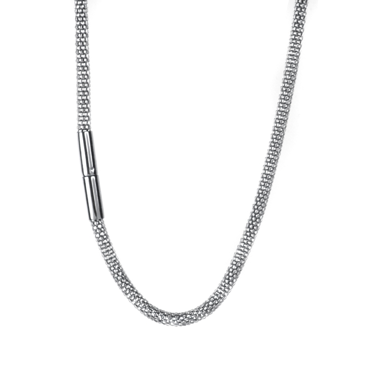JOLIE Kette mit Druckschließe, 3mm, diverse Längen_39 -60 cm