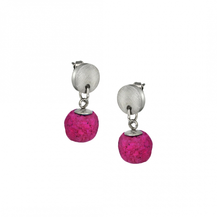 Pair of earrings MIO S with BEAD
